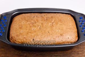 Достать хлеб из духовки и остудить.