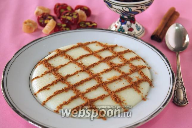 Фото Фирни — молочный десерт из рисовой муки