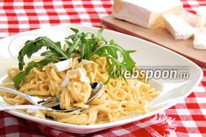 Спагетти с Горгонзолой и Бри
