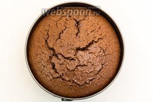 Выпекаем в разогретой до 170°C духовке 50-60 минут. Ориентируйтесь по своей духовке. Проверяем на сухую лучину. Собственно, пирог готов. Мы обмажем его глазурью.
