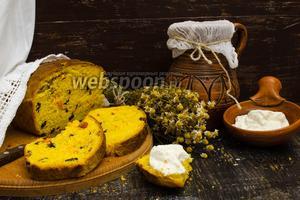 Тыквенный хлеб с изюмом