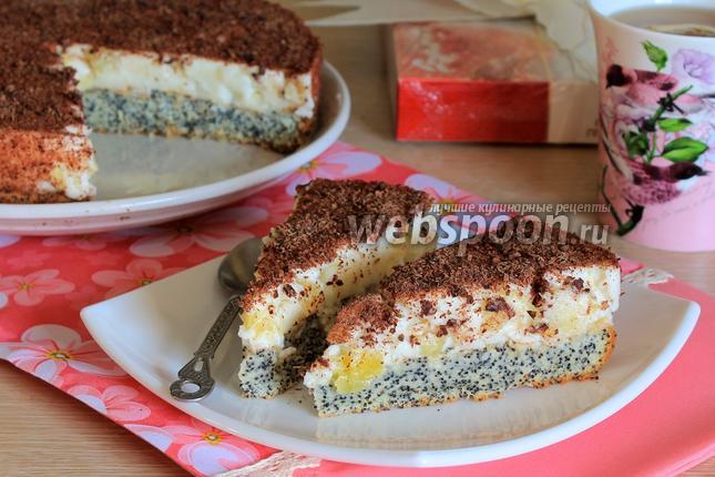 Фото Маковый торт «Киевляночка»