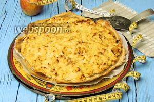 «Стройный» яблочный пирог