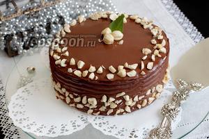 Торт-мусс «Ферреро»