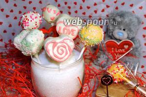 Кейк-попсы ко Дню влюблённых