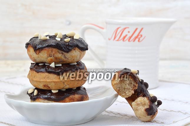 Фото Заварные пончики с корицей