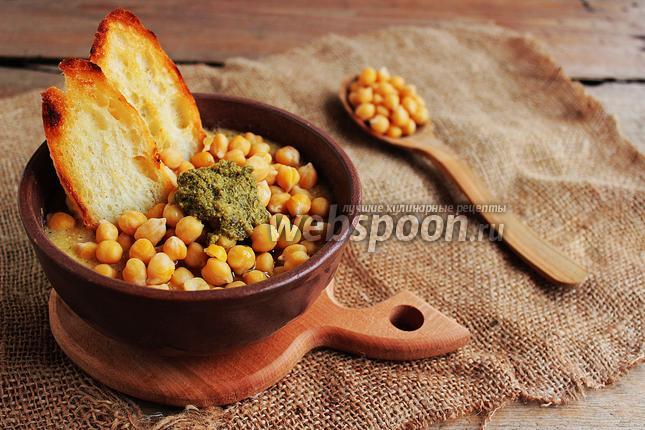 Фото Ломбардский суп с нутом