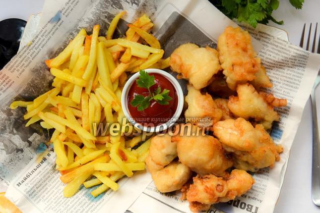 Фото Fish & Chips (во фритюре)