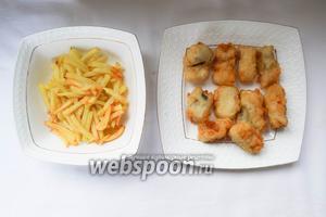 Быстро и вкусно. Все наше блюдо готово. Оцените английскую кухню в славянских условиях. Приятного аппетита!