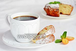 Творожный кекс с кумкватами