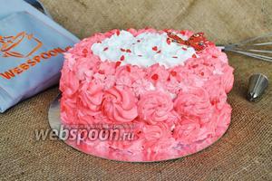 Торт «Розовый»