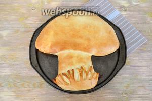 Из указанного количества получится 2 пирога в форме диаметром 30 см.