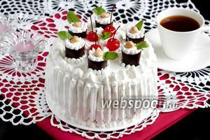 Торт «Японский»