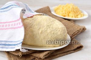 Сырное тесто на кефире