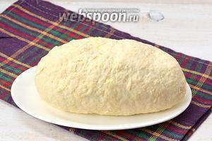 Сырное тесто на кефире готово.