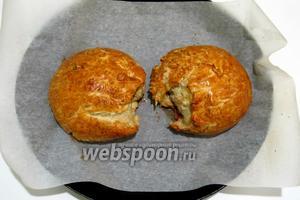 Очень вкусный овернский хлеб готов.