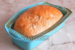 Немецкий хлеб Linz готов.