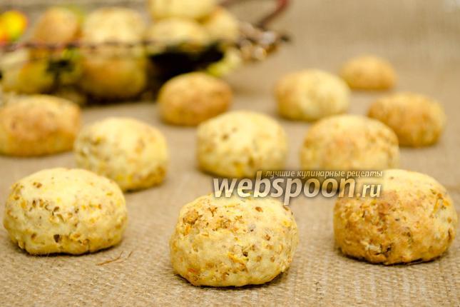 Фото Овсяно-творожное печенье
