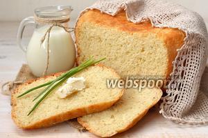 Ароматный молочный хлеб в мультиварке