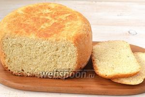 Хлеб готов.