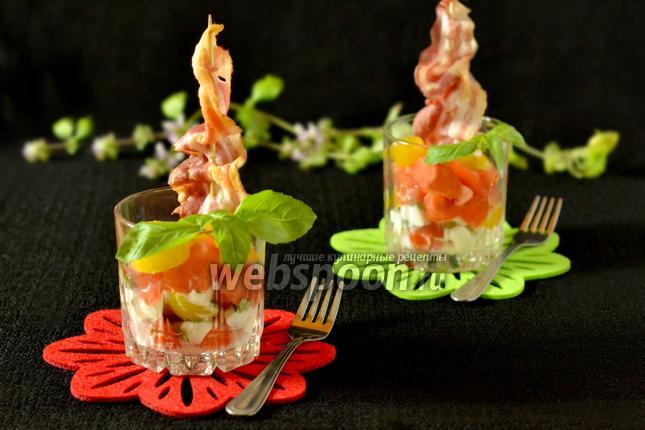 Фото Веррины с помидорами черри и беконом