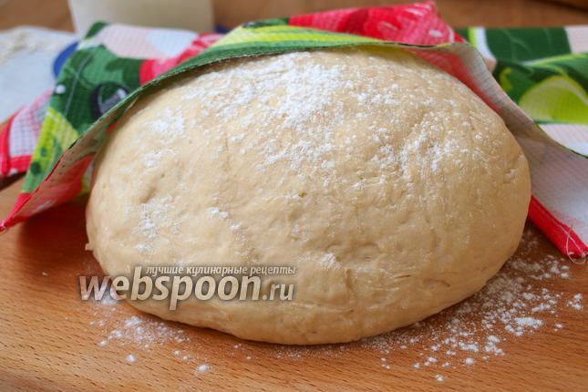 Фото Постное заварное дрожжевое тесто