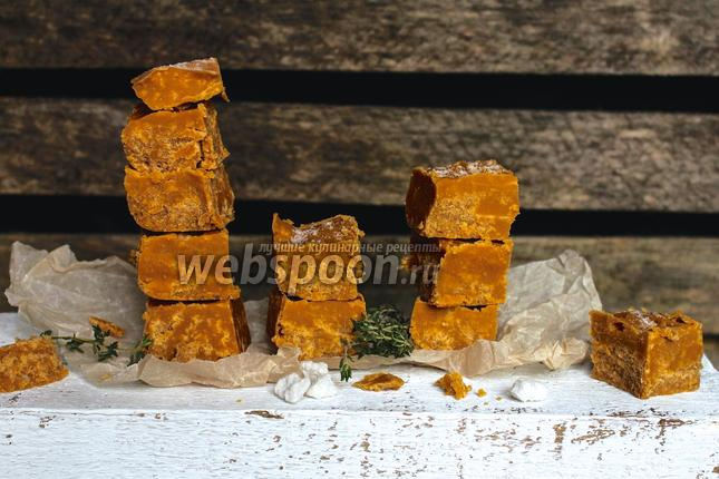 Фото Помадка со вкусом солёной карамели