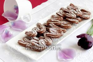 Шоколадное печенье «Сабле»