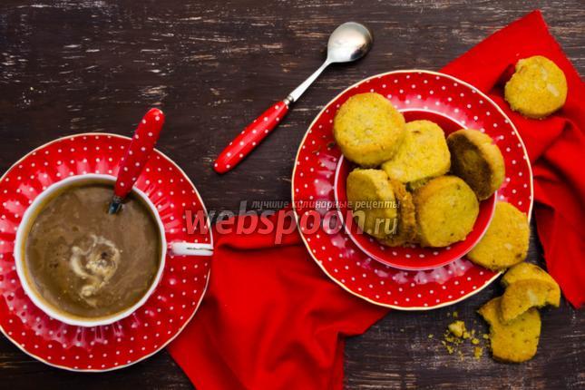 Фото Песочное печенье с орехами