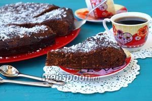 Пирог «Шоколадное удовольствие»