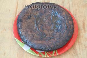Дать заливке пропитаться. Готовый пирог можно посыпать кокосовой стружкой. Приятного аппетита!
