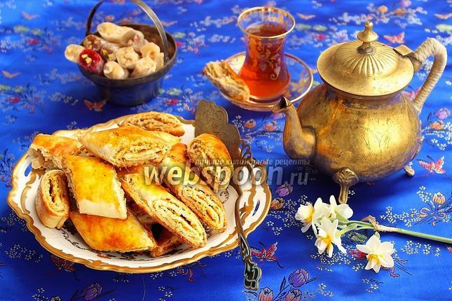 Фото Кете — слоёные печенья по-азербайджански