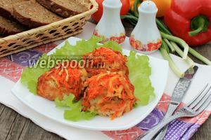 Рыбные тефтели с кабачком