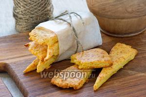 Картофельное печенье с сыром