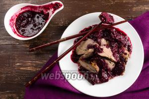 Свинина с вишневым соусом по-китайски