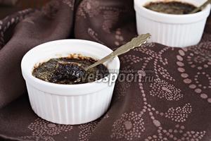 Шоколадный крем-брюле