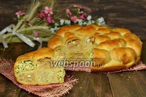 Сотовый пирог