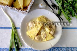 Кабардинская «паста» с курицей