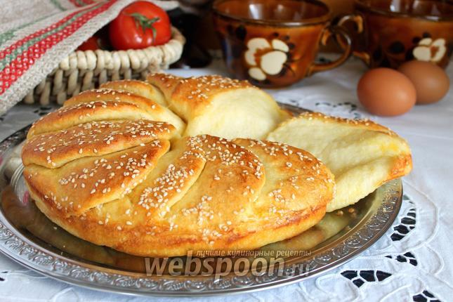 Фото Cербский хлеб «Погачице»
