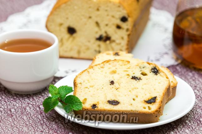 Фото Молочный овсяный кекс