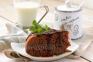 Пирог «Шоколад в молоке» в мультиварке