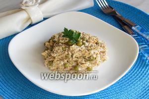 Салат «Дальневосточный» с горбушей