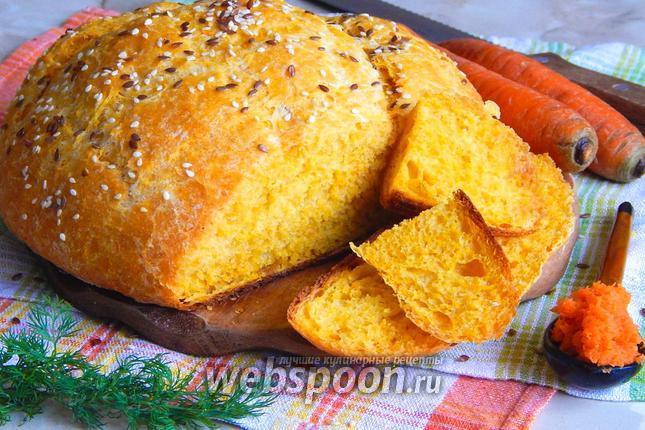 Фото Морковный хлеб