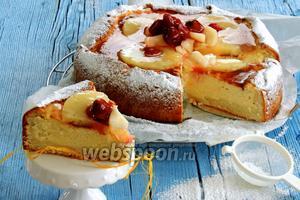 Творожный торт — Кезекухен