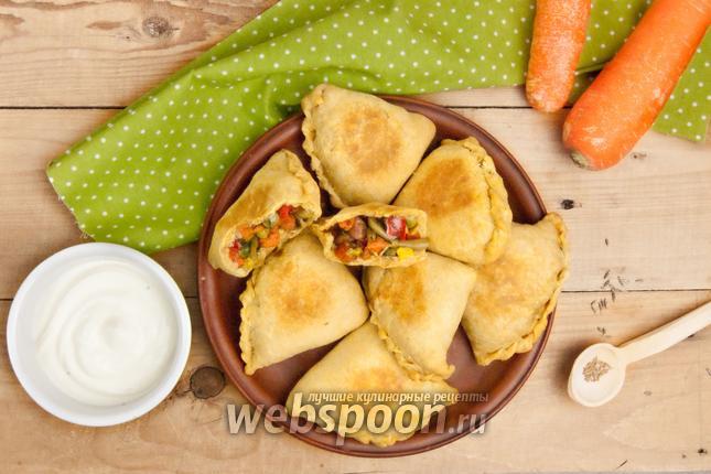 Фото Самосы с овощами