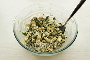Салатик готов! Приятного аппетита и будьте здоровы!