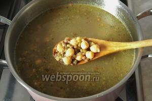 Через 2-3 минуты суп выключить и дать настояться. Ароматный и полезный суп готов. Приятного аппетита!