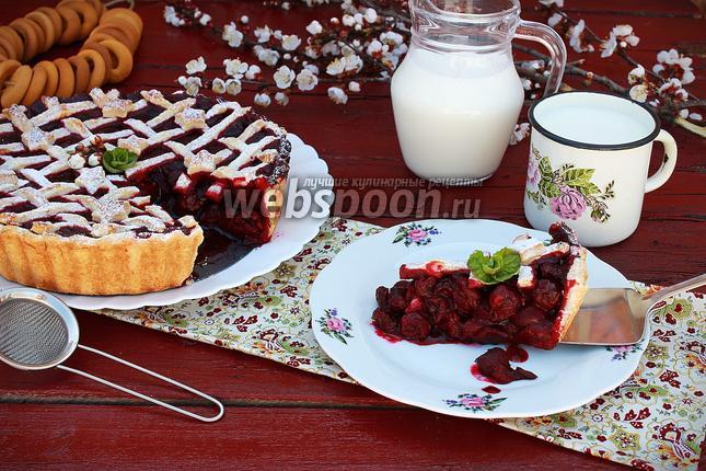 Фото Бабушкин вишнёвый пирог