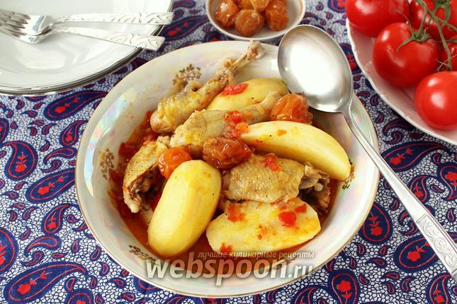 Фото Бозбаш по-азербайджански из курицы
