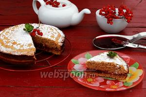 Тирольский гречневый пирог